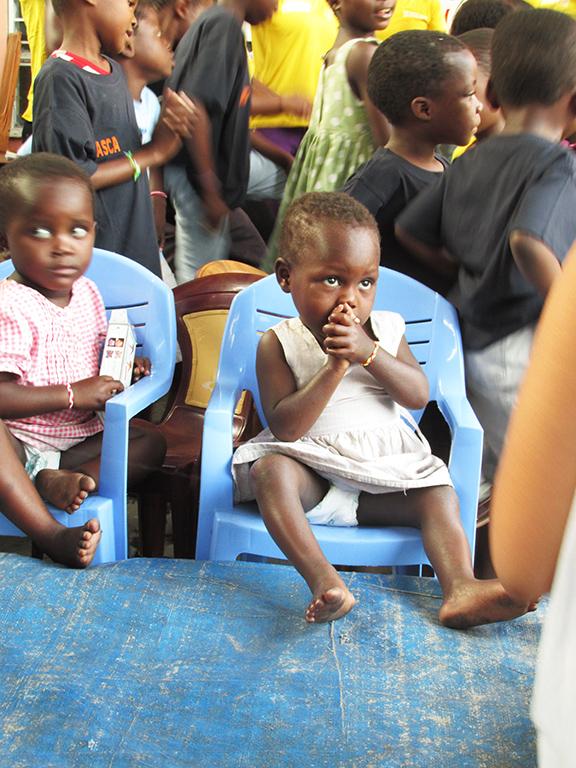 Bimba orfanotrofio Congo