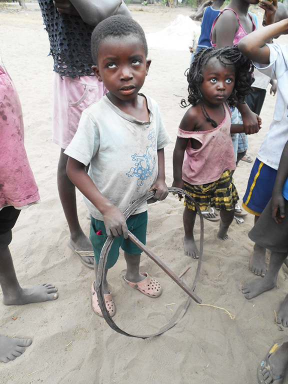 Gioco bambino Congo
