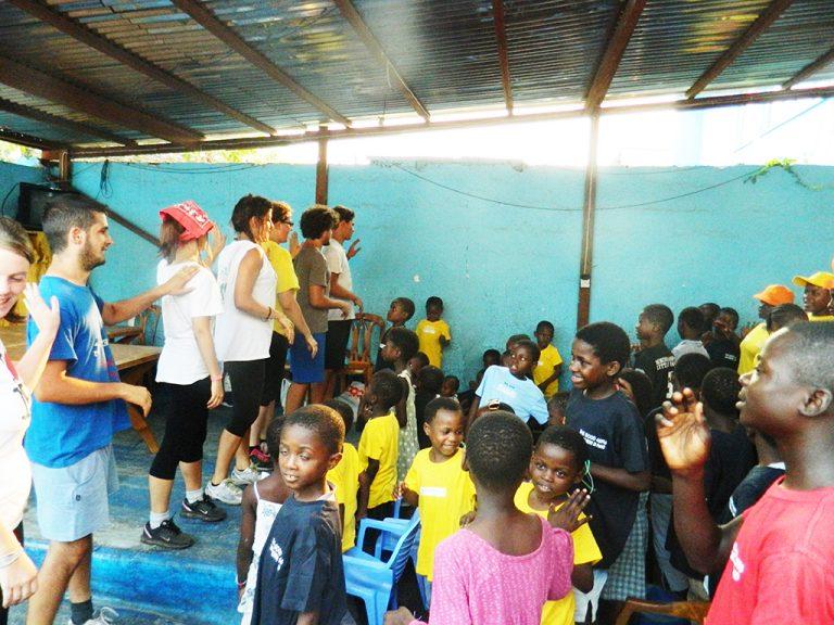 Kinshasa orfanotrofio Congo