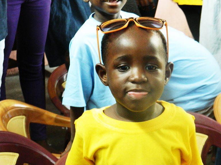 Orfanotrofio bambino Congo