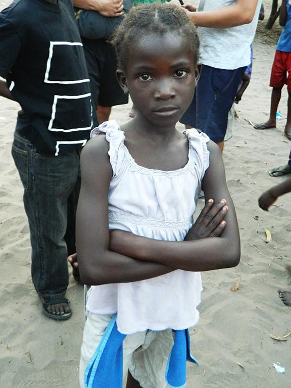 Ragazza Congo