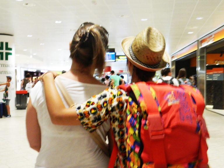 Saluti aeroporto