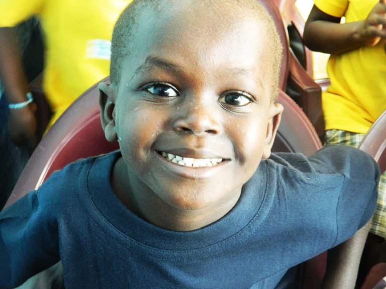 Sorriso bambino Africa