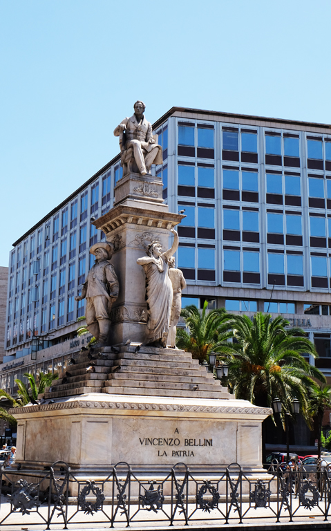Statua Bellini Sicilia